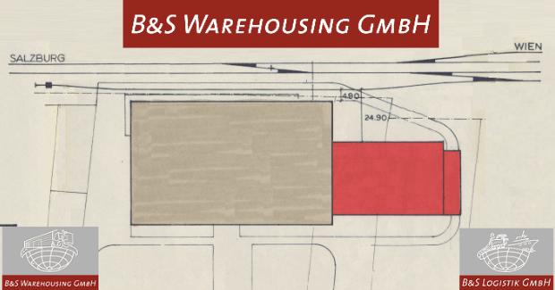 B&S Warehousing mit Betriebsstätte in Schwanenstadt in Oberösterreich geht in die Endphase